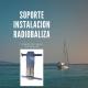 SOPORTE INSTALACIÓN RADIOBALIZA MCMURDO SERIE 8